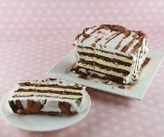 Ice Cream Sandwich Cake Recipe No Baking required!  #EasyRecipes #PinOfTheDay