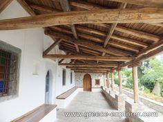 Village Vizitsa in Mount Pelion Greece, Pergola, Outdoor Structures, Places, Greece Country, Outdoor Pergola, Lugares