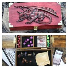 """The Adventure Case Is """"The Ultimate Tabletop Gaming Accessory"""" [Video] Board Game Geek, Board Games, Dungeons And Dragons, Dice Box, Tabletop Games, Tabletop Rpg, Nerd, Pathfinder Rpg, D Craft"""