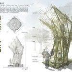 Sukkahville 2014: Sukkah Nest By: Hsiu-Wei Chang and Hsin-Yu Chen (Berkeley, CA)