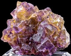 Phantom Fluorite Mineral Specimen from Annabel Lee Mine, Illinois