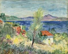 Charles Camoin, St. Tropez
