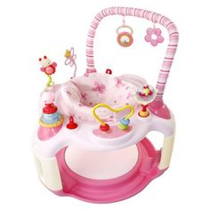 Bright Starts Bounce-A-Bout Activity Center - Pink.Opens in a new window