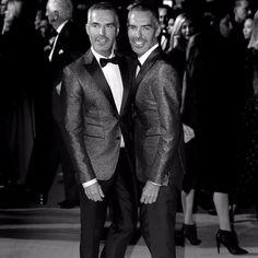 About last night at Green Carpet fashion awards 💥 Thanks for having us! #GFCAItalia @carlocapasa @livia_firth