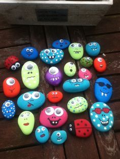 Fun :)  Rock monsters
