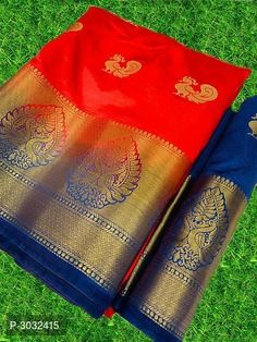 Kanjeevaram Jacquard Silk Sarees from Stf Store Saree Design Patterns, Picnic Blanket, Outdoor Blanket, Morning Flowers, Silk Sarees, Trendy Fashion, Collection, Trendy Outfits, Moda