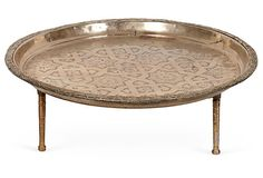 Moroccan Tea Tray - want a pair next to low bed