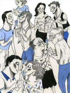 La festa que envejaríem. Gent_del_Catorze  Il·lustració Ignasi Blanch http://catorze.naciodigital.cat