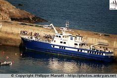 Embarcadère et port du Stiff (Ile d'Ouessant, Bretagne)