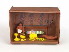 Egyptian Tomb Diorama |  crayola.com    # Pin++ for Pinterest #