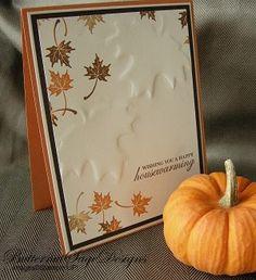 Autumn card.