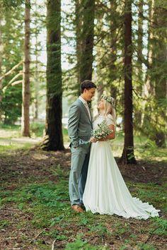 Oregon Formal Wedding // Forest Bridals // Silver Falls Wedding // Oregon LDS wedding // Devon + Bailey Formals - Amy Hirschi Creative