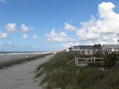 Folly Beach in Charleston South Carolina