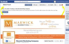 Facebook Admins Will Show On Posts - Marwick Marketing   Marwick Marketing Facebook Search, Search People, Admin Panel, Search Engine, Insight, Posts, Marketing, This Or That Questions, Messages