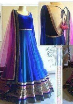 Designer Anarkali Dresses, Printed Gowns, Lehenga Designs, Facebook, Formal Dresses, Fashion, Dresses For Formal, Moda, Formal Gowns