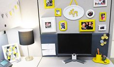 Stylish Cubicle? Yes it's possible! | The Office Stylist