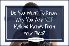 Are you making money from your blog?  If not would you like to know why?  What I have to share will clear up a lot of confusion for you and help pave the way.
