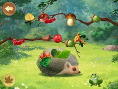 Woodland Games for kids with memory cards  Test your skills with Hedgehog, Frog and Ant! Three exciting mini-games from Indigo Kids in one app! Hedgehog teaches kids to tell the difference between nuts, leaves, mushrooms and berries. Frog lets you play hide-and-seek with the Magic Forest creatures. And Ant helps improve your memory. These friendly forest creatures are waiting to play with you!  80MB