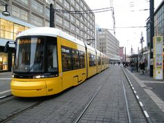 Germany has long supported trams in cities. Discover two of its most famous in Berlin and Frankfurt