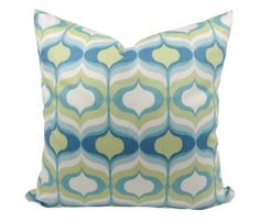 Throw Pillow Cover Designer Fabric Waverly by TrellisHomeDecor