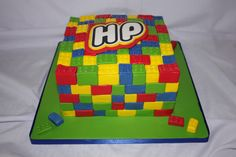 Lego Cake - www.suikerbekkie.co.za Lego Cake, Cakes, Cake Makers, Kuchen, Cake, Pastries, Cookies, Torte, Layer Cakes