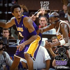 63b51a424 The  Lakers battled last night at Golden State. Here is vintage Kobe going  of