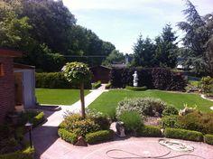 Grote kunstgras tuin met RG Seda te Lummen
