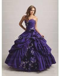 Masquerade Theme Prom Dresses Purple