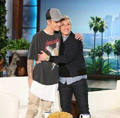 Justin en #theellenshow #justinbieber #beliebers #swag #belieberslatinas #idolo #perfection