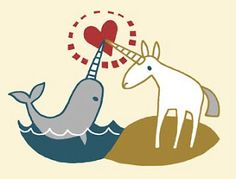 Narwhal & Unicorn Heart