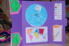 Lapbook sur le planisphère, les continents et océans (CE2/CM1) Les Continents, Cycle 3, Aide, Lily Pulitzer, Continents And Oceans, Antarctica, Lilly Pulitzer