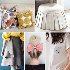 40 Genius No-Sew DIY Projects via Brit + Co