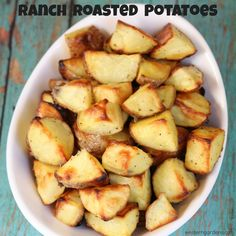 Ranch Roasted Potatoes, an easy side dish that everyone loves.