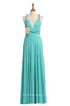 lime green bridesmaid dress with 3d slower fashion multi wear long