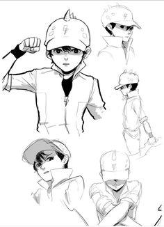 Boboiboy Galaxy Anime, Boboiboy Galaxy, Cartoon Movies, Cartoon Art, Cartoon Characters, Galaxy Comics, Boboiboy Anime, Art Poses, A Comics