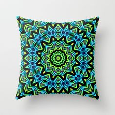 The Tribal Colors Throw Pillow by Lyle Hatch - $20.00