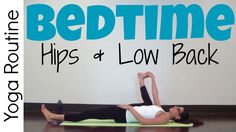 Release tension from your hips and lower back so you can fall asleep fast after this gentle, hatha bedtime yoga practice. The entire routine can be done in b...