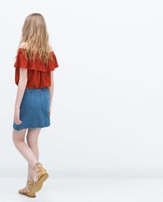 ZARA - COLLECTIE AW15 - DENIM ROK