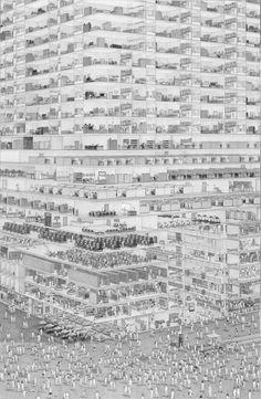 Urban by Ben Tolman Tolman draws inspiration from illustrators like R. Crumb and draftsmen such as Albrecht Dürer in equal measure.