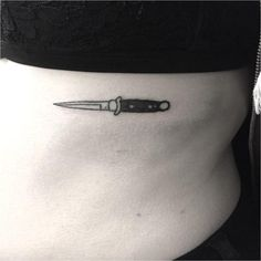 #Tattoo Fresh Poked knife..., Click to See More...