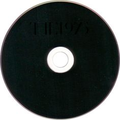 Carátula Cd de The 1975 The 1975 ❤ liked on Polyvore featuring fillers, music, accessories, other, black fillers, round, circle and circular