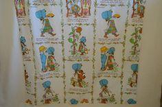 American Greetings 'Holly Hobbie' Curtain Set by RagandBonesFinds