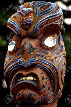 maori mask - Google Search Sculpture Art, Sculptures, Polynesian People, Maori Art, Tribal Art, Primitive, Carving Wood, Wood Carvings, Masks