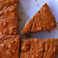 Pumpkin Spiced High-Protein Breakfast Cake...OMG I will pretty much eat anything that says pumpkin