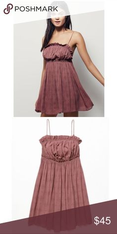 Free People Slip Free People Monte Carlo Slip, cute and comfy size small Free People Dresses Mini