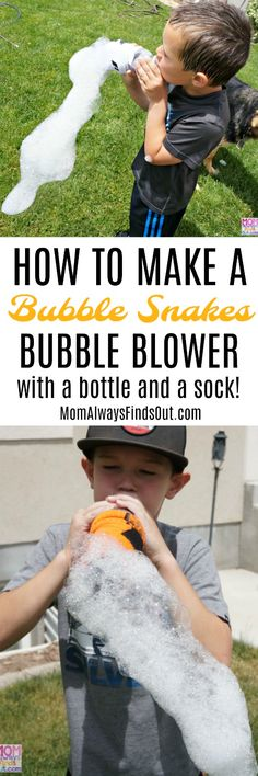 How To Make a Bubble Snakes Bubble Blower - Bubble Activities For Kids Plus a Teletubbies DVD and $25 Amazon Gift Card Prize Pack Giveaway Ends June 30! #sponsored