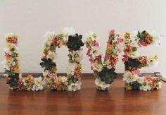 Inicial con flores paso a paso