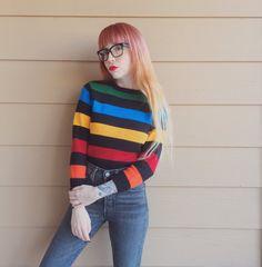Primary Striped Sweater
