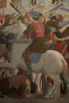 Piero della Francesca - Battle Between Heraclius and Chosroes. Detail. 1452 - 1466