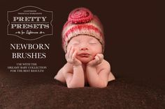 Newborn Brushes from Pretty Presets for Lightroom!  These are an amazing tool to have while editing newborns.  Check them out here!